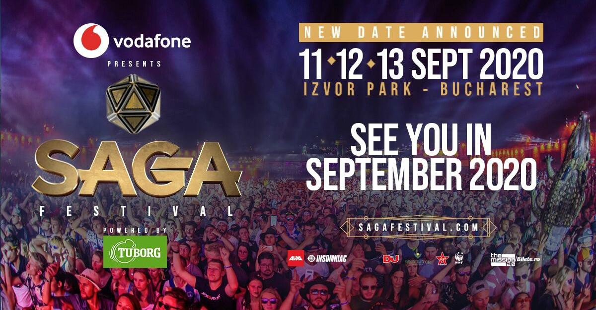 ALDA & Insomniac anunță o nouă dată pentru SAGA Festival