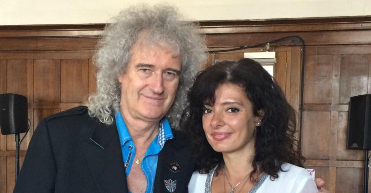 3 minute cu Brian May de la Queen