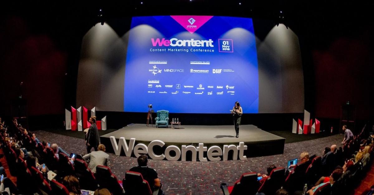 WeContent, conferința anului în content marketing, va avea loc în perioada 7-8 noiembrie în București