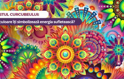 Testul curcubeului: Ce culoare iti simbolizeaza energia sufleteasca?
