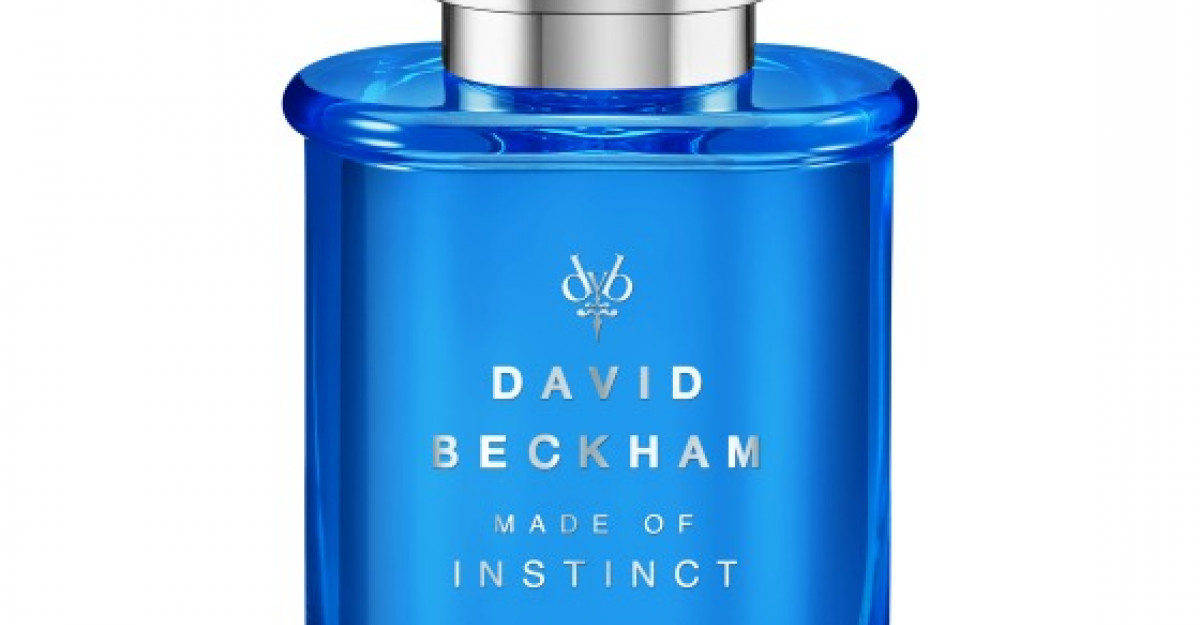 MADE OF INSTINCT: David Beckham lanseaza un nou parfum pentru barbati