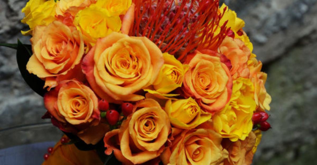 Cele mai populare flori pentru buchetul de mireasa
