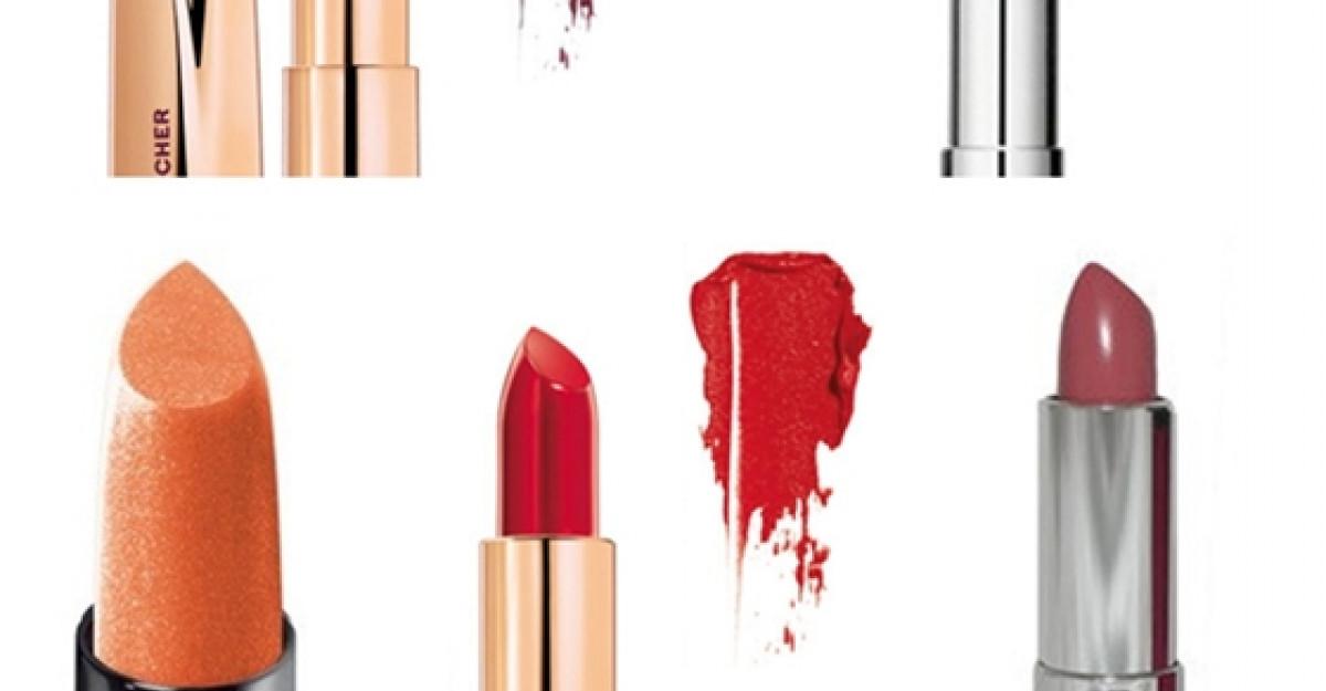Lipstick trend 2014: Cele mai frumoase nuante de ruj si lipgloss
