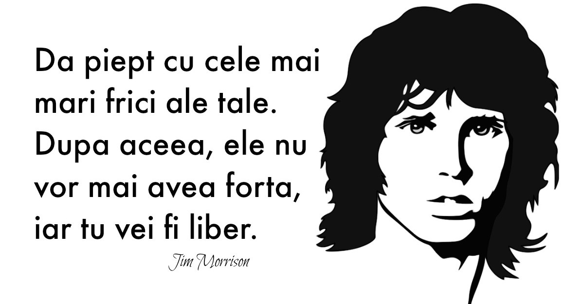 Alfabetul dragostei: Cele mai frumoase citate despre iubire dupa Jim Morrison