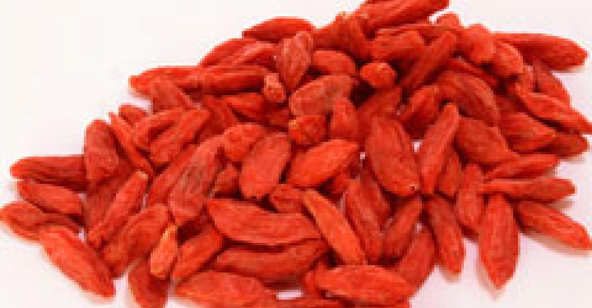 Beneficii tamaduitoare cu Goji - Fructul longevitatii
