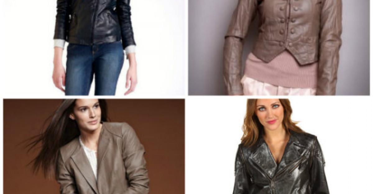 20 de jachete din piele naturala si ecologica