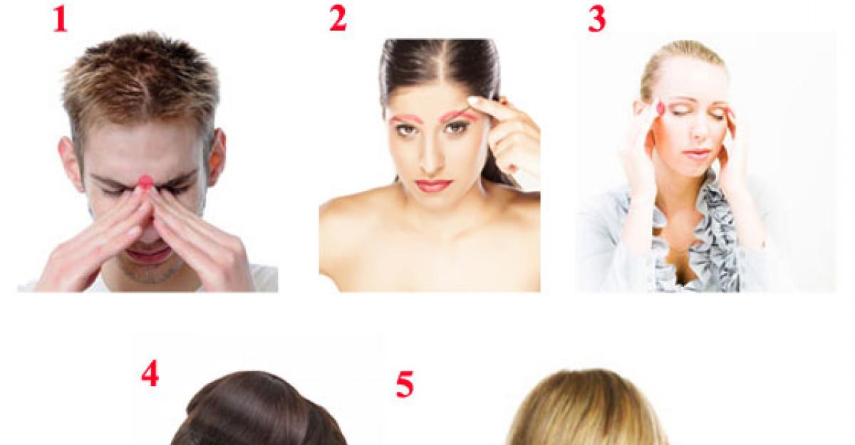 Cele 8 'BUTOANE' din corpul tau care reduc MIGRENELE
