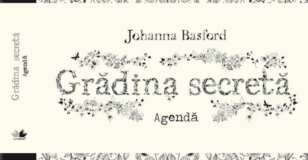 Agenda antistres - Gradina secreta