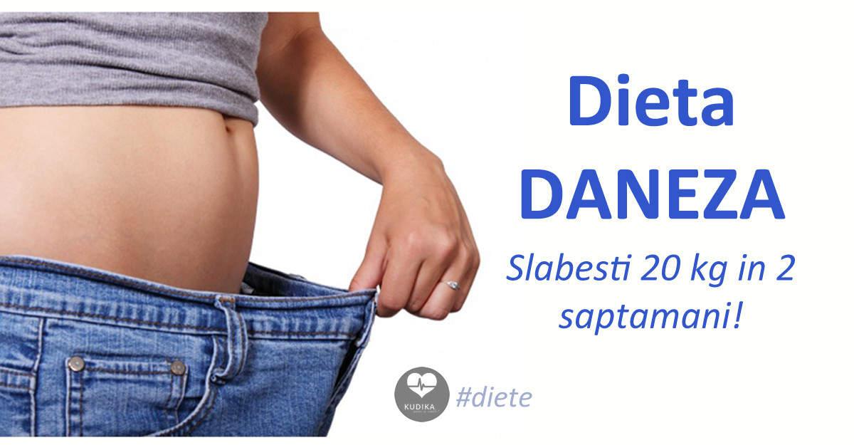 Dieta daneza - 20 de kilograme in doua saptamani