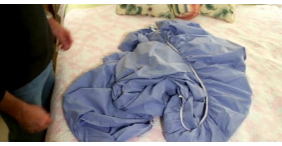 Am impaturit gresit cearsafurile de pat cu elastic. Iata cat de simplu este
