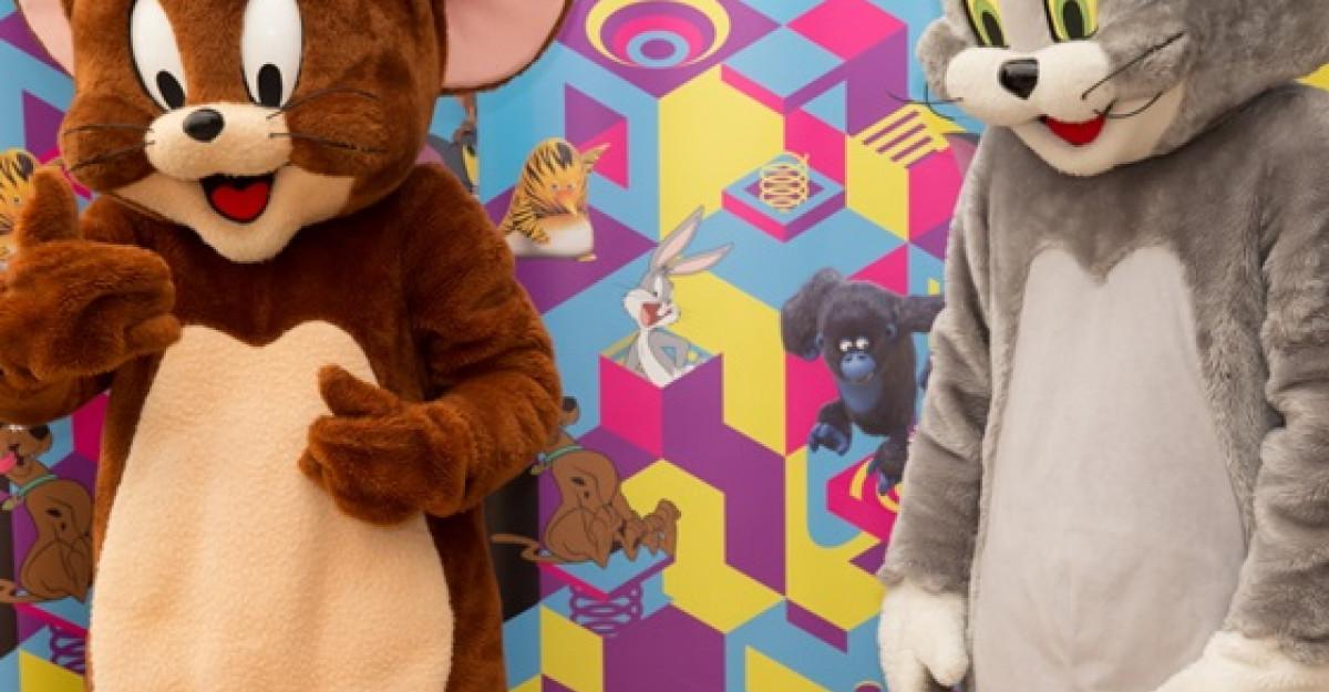 O excursie pe zi si un turneu national cu Scooby Doo, Tom si Jerry
