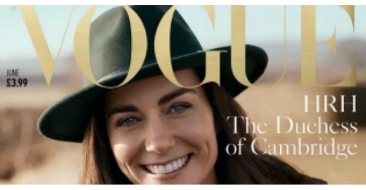 Primele imagini: Kate Middleton a pozat pentru Vogue