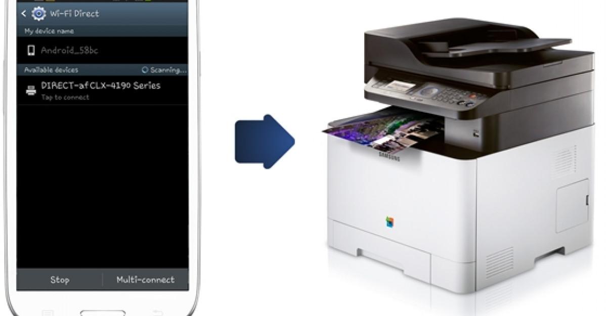 Solutiile Samsung de imprimare direct de pe telefonul mobil fac imprimarea mai usoara
