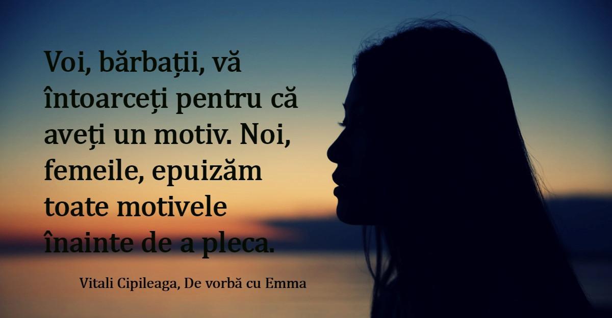 De vorba cu Emma: 10 citate care te vor pune pe ganduri