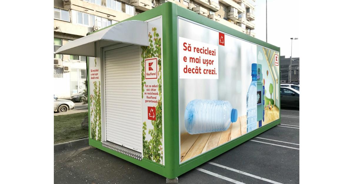 Kaufland România își dotează magazinele cu automate de reciclare a ambalajelor