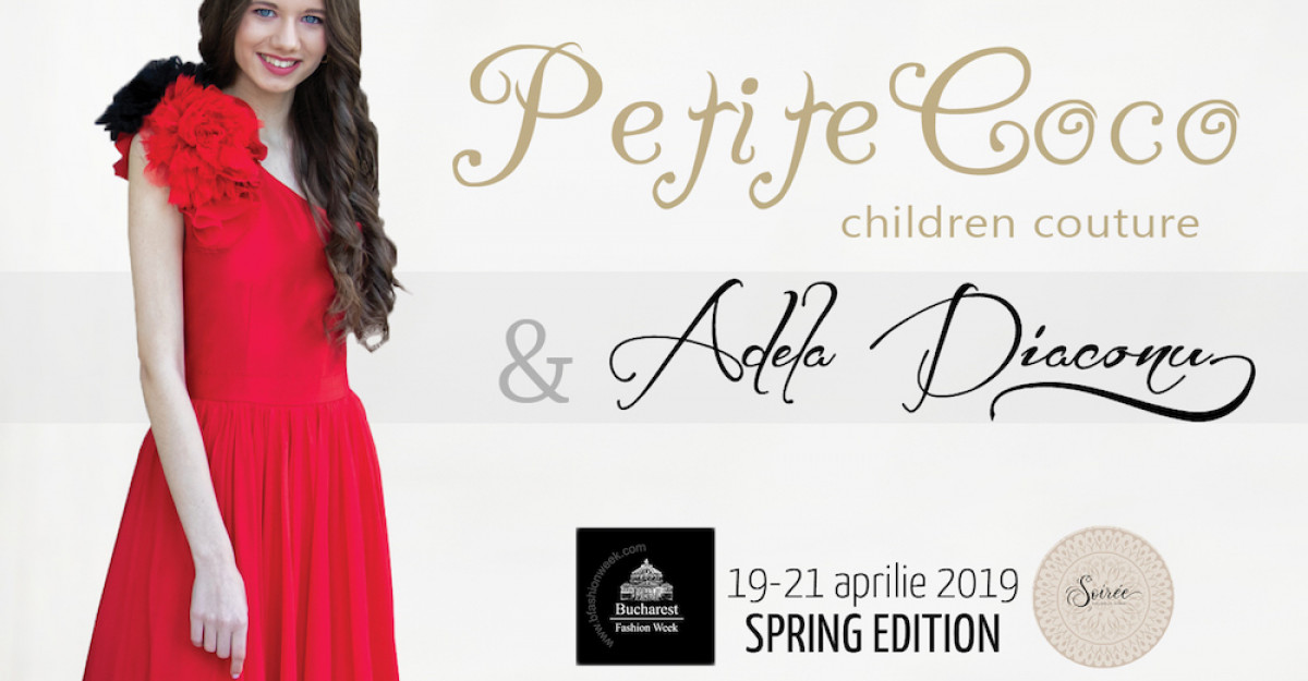 Copii de sportivi, vedete, mini vedete talentate din showbiz vor defila in colectia semnată Petite Coco & Adela Diaconu