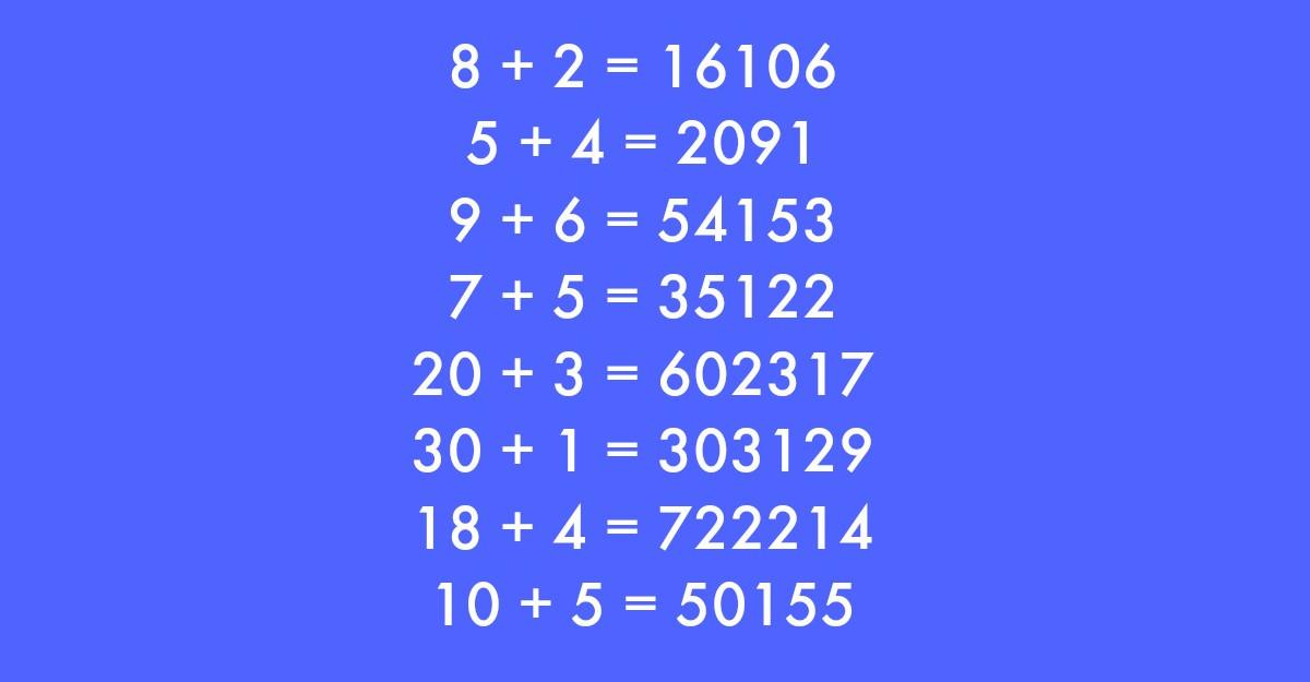 Voi stiti raspunsul corect la aceasta ecuatie simpla?