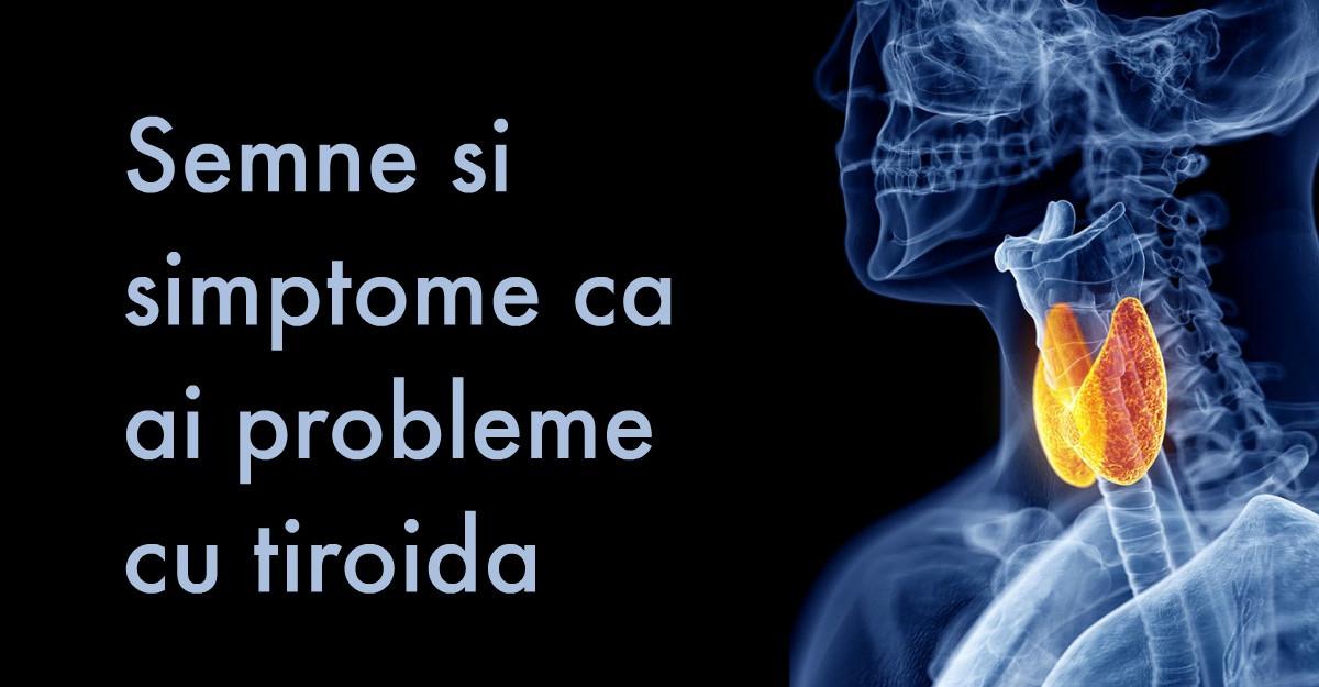 9 Semne si simptome ca ai probleme cu tiroida