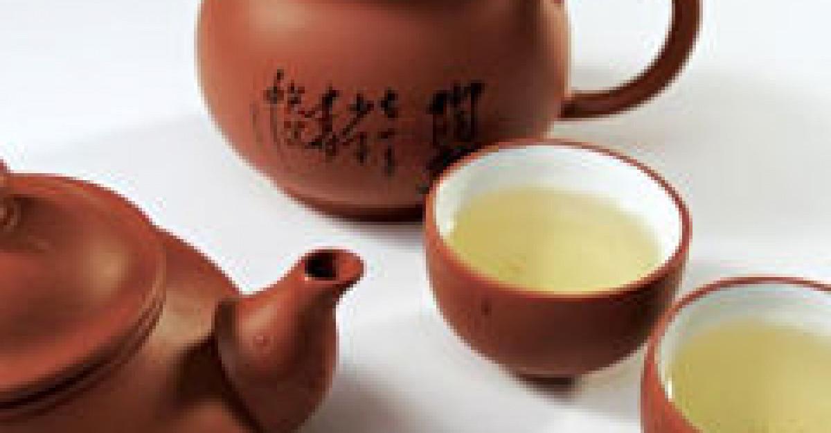3 cure de slabire cu ceai verde