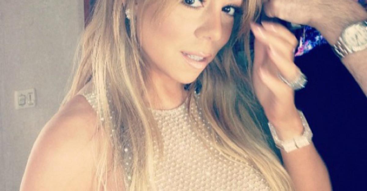 Foto: Mariah Carey, ai innebunit? A postat o imagine inainte de partida de sex!