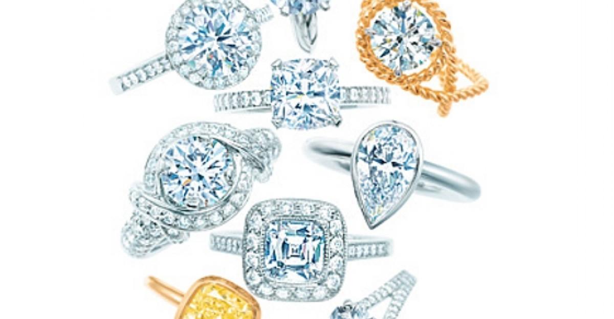 40 Inele de logodna de la Tiffany's