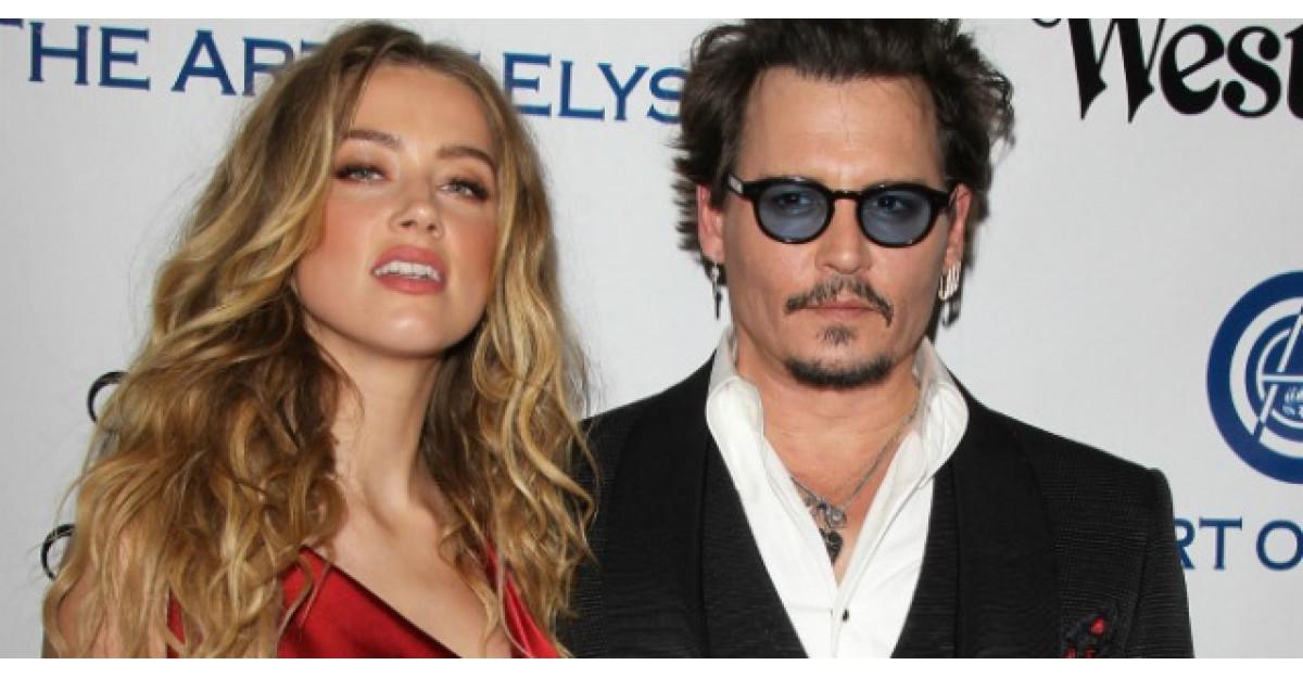 Johnny Depp si Amber Heard divorteaza dupa 15 luni de casnicie
