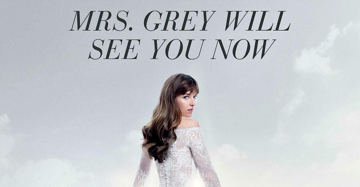 Domnul si doamna Grey revin pe marile ecrane in filmul 'Cincizeci de umbre descatusate'