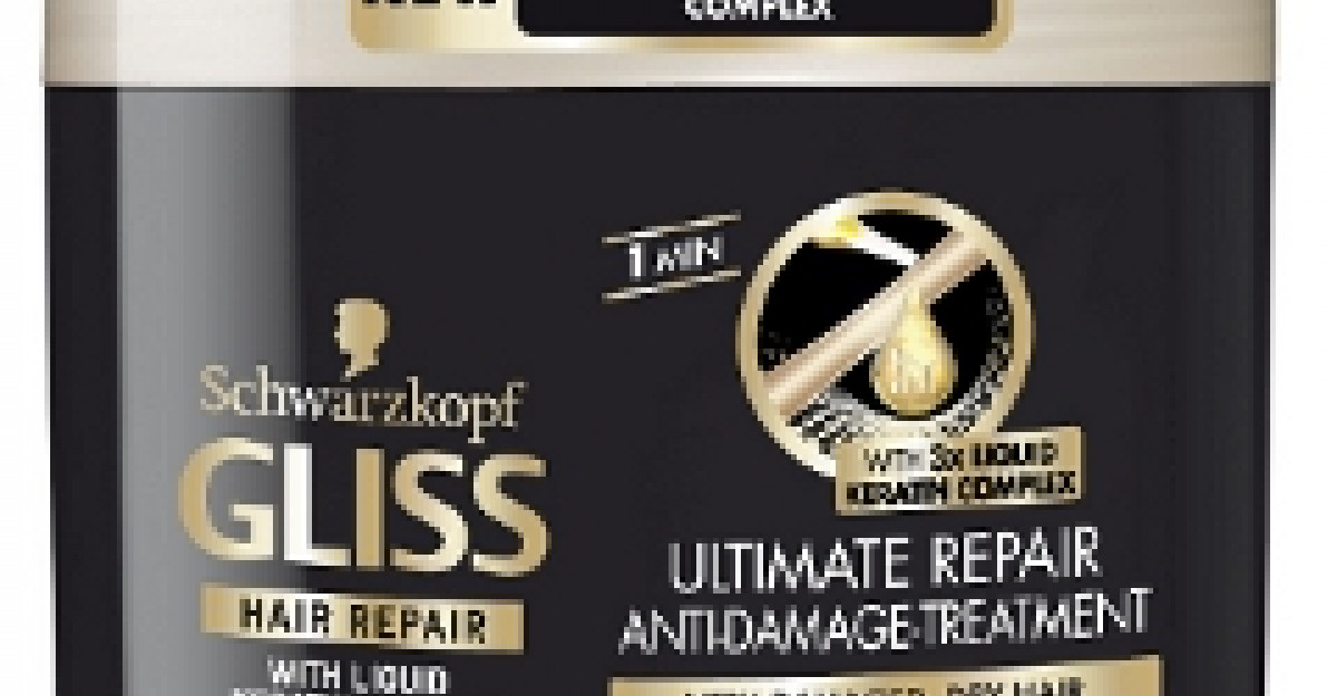 Noua gama de ingrijire a parului deteriorat - Gliss Ultimate Repair