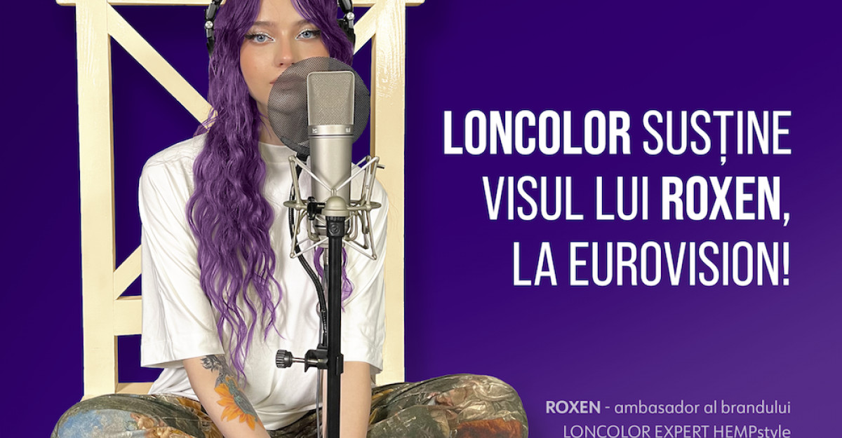 LONCOLOR o susține pe ROXEN la Eurovision Song Contest 2021