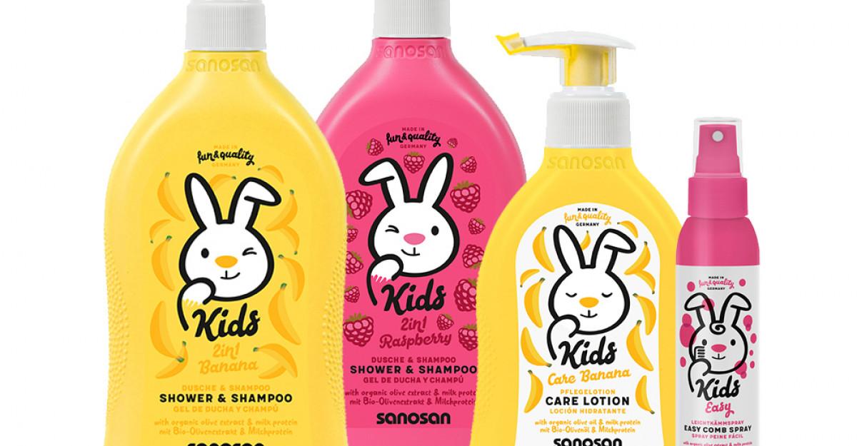 Noutăți de la Sanosan Kids - arome delicioase și hăinuțe arătoase
