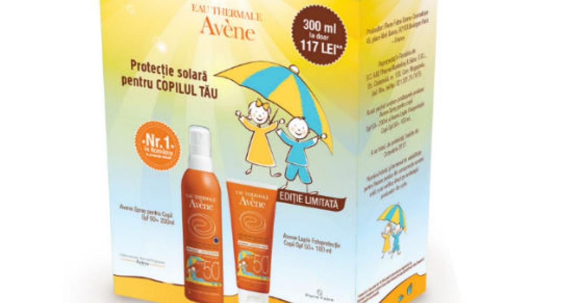 Tot ce e mai bun in materie de protectie solara pentru familia ta!
