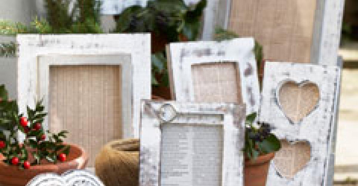 Stilul shabby chic: 5 accesorii decorative specifice