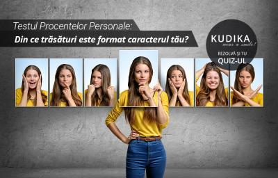 Testul Procentelor Personale: Din ce trasaturi este format caracterul tau?