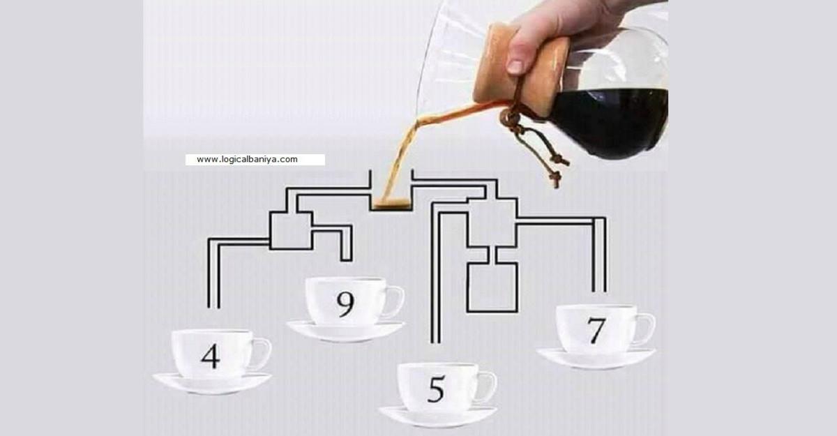 Testul de dimineață: Care ceașcă de cafea se va umple prima