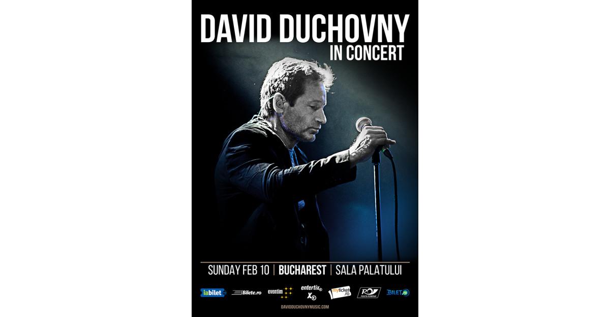 David Duchovny e hotărât să răpească inimile românilor!