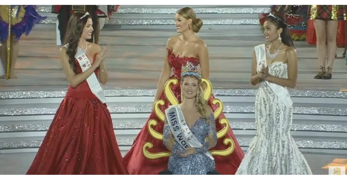 Rochia castigatoarei Miss World 2015 a fost creata de O ROMANCA
