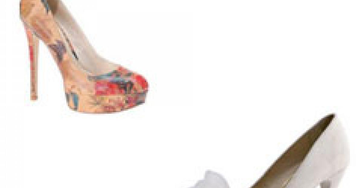 Cei mai sic pantofi pentru nunta si cununie civila