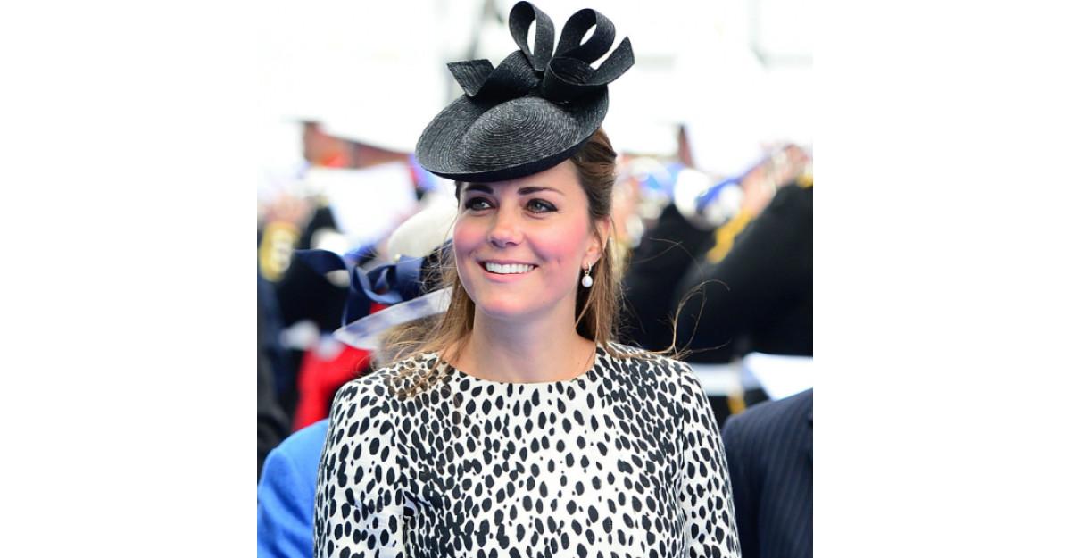 Foto: Kate Middleton, din nou INSARCINATA!