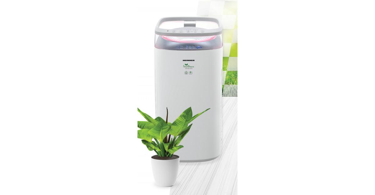 Bucură-te de aer curat in casa ta, cu purificatorul de aer Heinner HPA M500