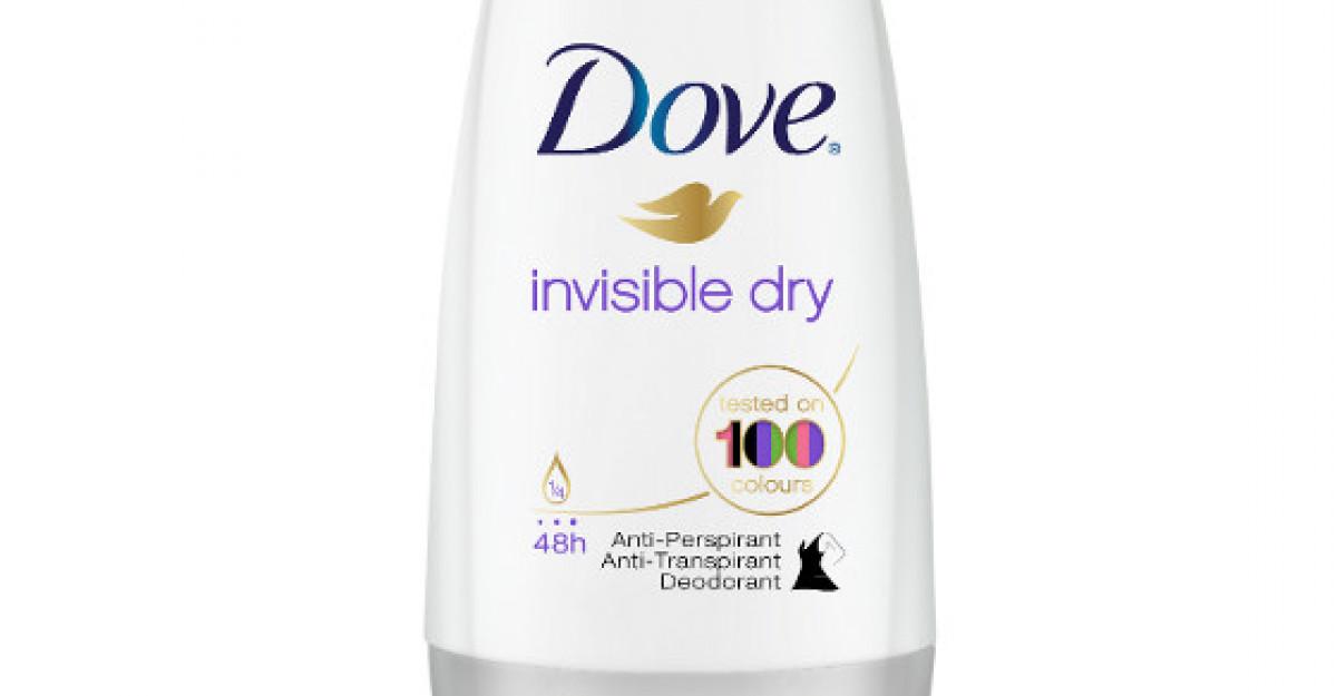 Bucura-te de frumusetea culorilor cu Dove Invisible Dry!