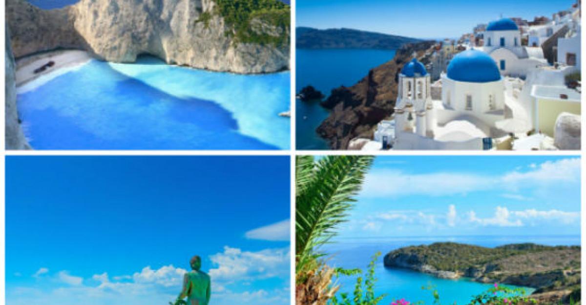 9 Insule din Grecia care merita vizitate