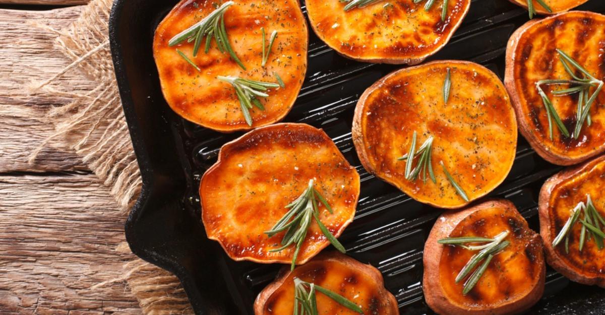 Cartoful dulce: Beneficii pentru sanatate