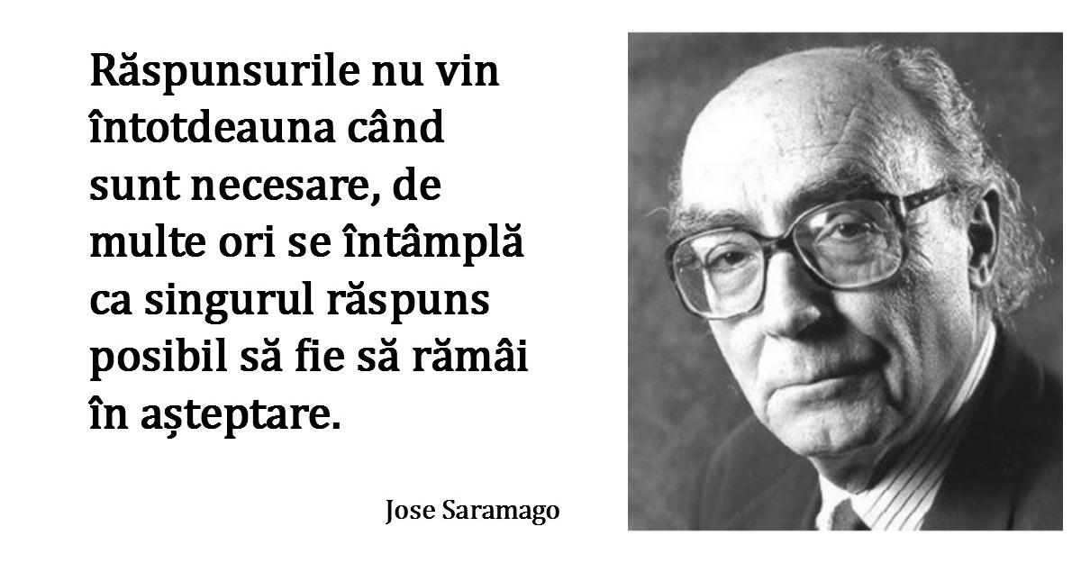 Alfabetul dragostei. Cele mai frumoase citate despre iubire dupa Jose Saramago