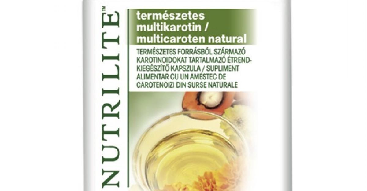 Frumusetea pielii vine din interior cu Nutrilite Multicaroten Natural de la Amway