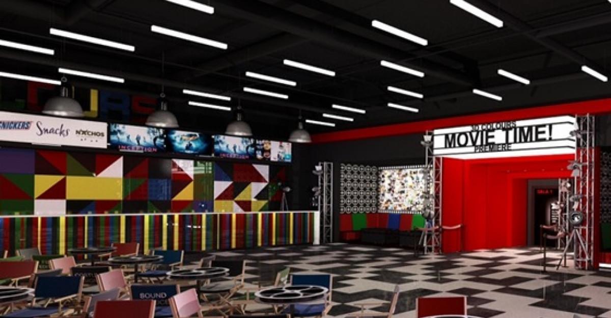 Promenada Mall Focsani anunta deschiderea cinematografului COLOURS la sfarsitul anului