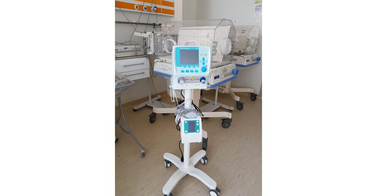 Spitalul Judetean de Urgenta din Suceava primeste ventilator si echipamente de protectie