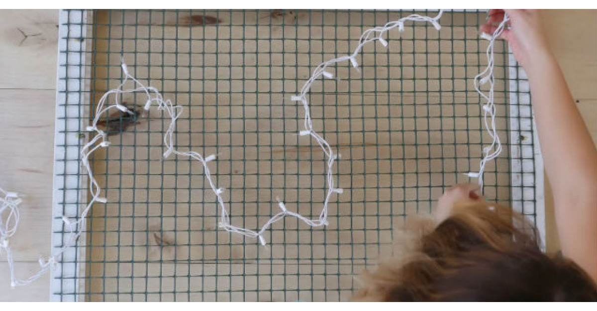 Video: Pune o instalatie de brad pe o sita. Ce face apoi? INCREDIBIL