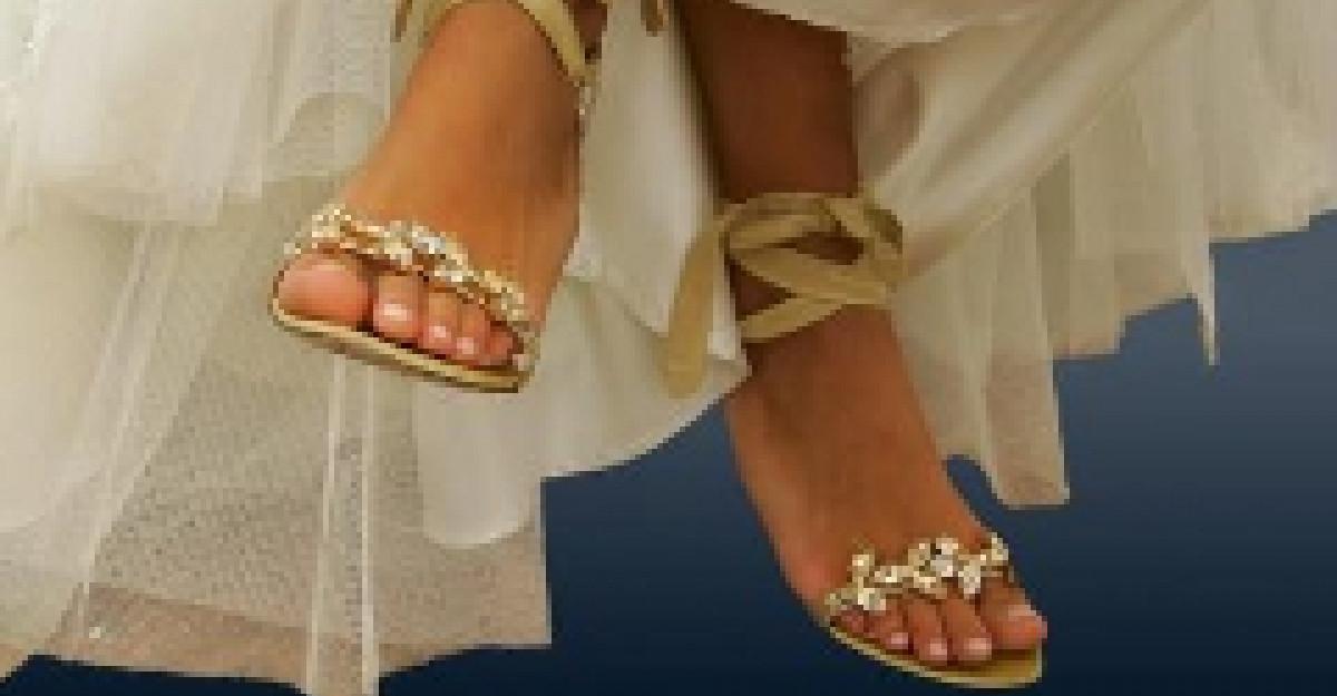 Pantofii de mireasa: Tendintele anului 2012
