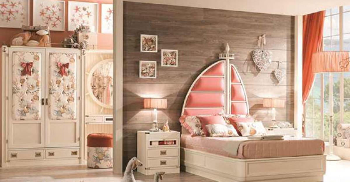 17 dormitoare pentru copii