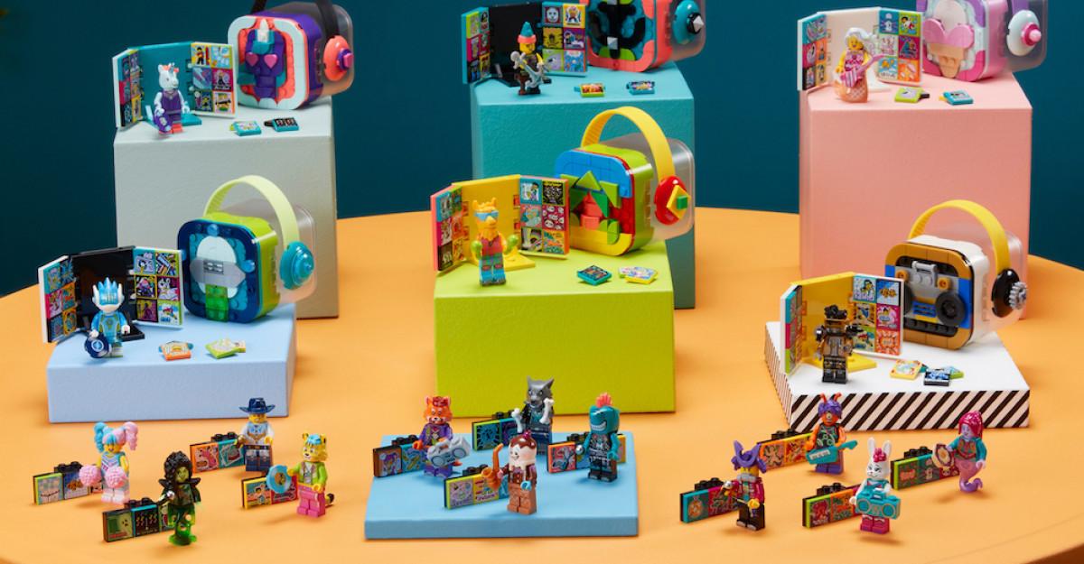 Grupul LEGO și Universal Music Group dezvăluie întreaga gamă LEGO VIDIYO